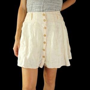 Free People Womens Daze Away Skirt Skort Size 8